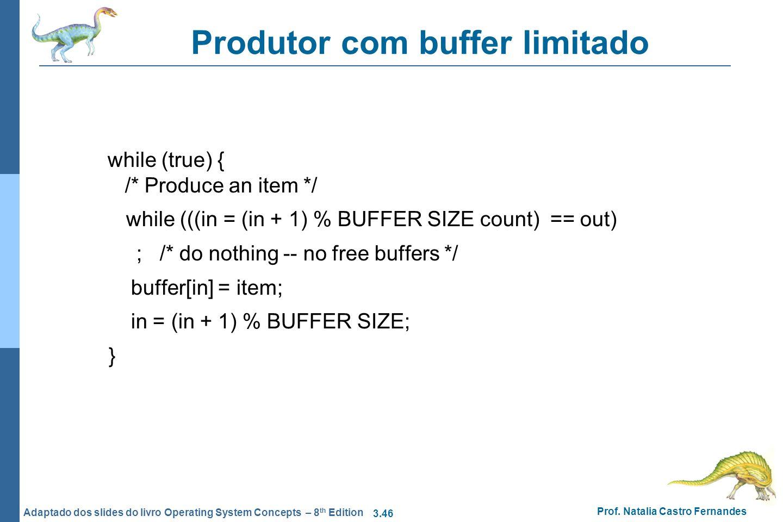 Produtor com buffer limitado
