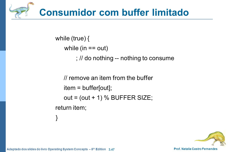 Consumidor com buffer limitado