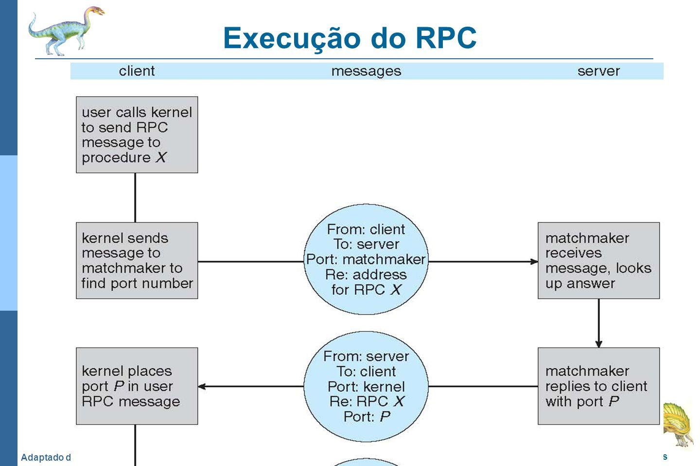 Execução do RPC