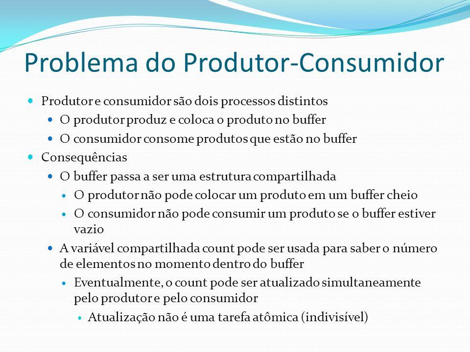 Problema do Produtor-Consumidor