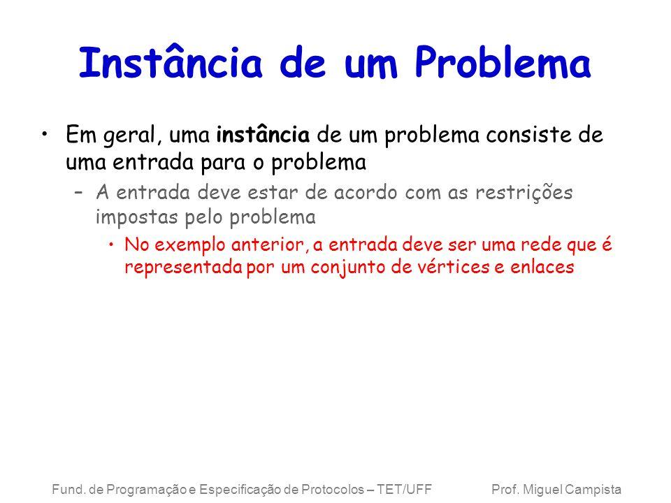 Instância de um Problema