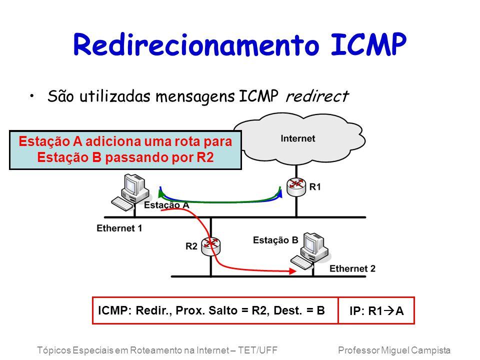Redirecionamento ICMP