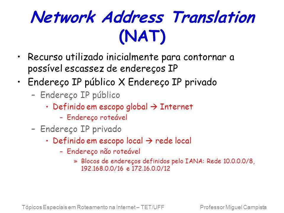 Network Address Translation (NAT)