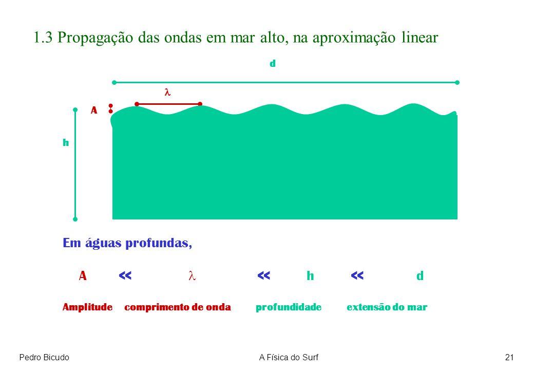 1.3 Propagação das ondas em mar alto, na aproximação linear