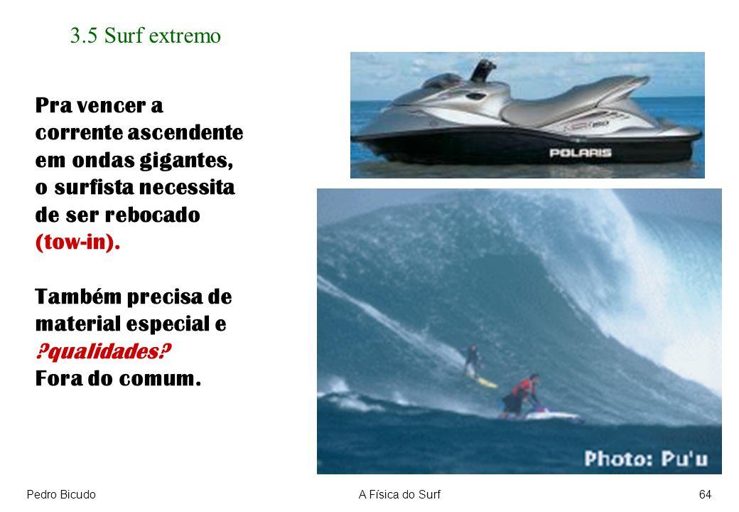 3.5 Surf extremo Pra vencer a corrente ascendente em ondas gigantes,