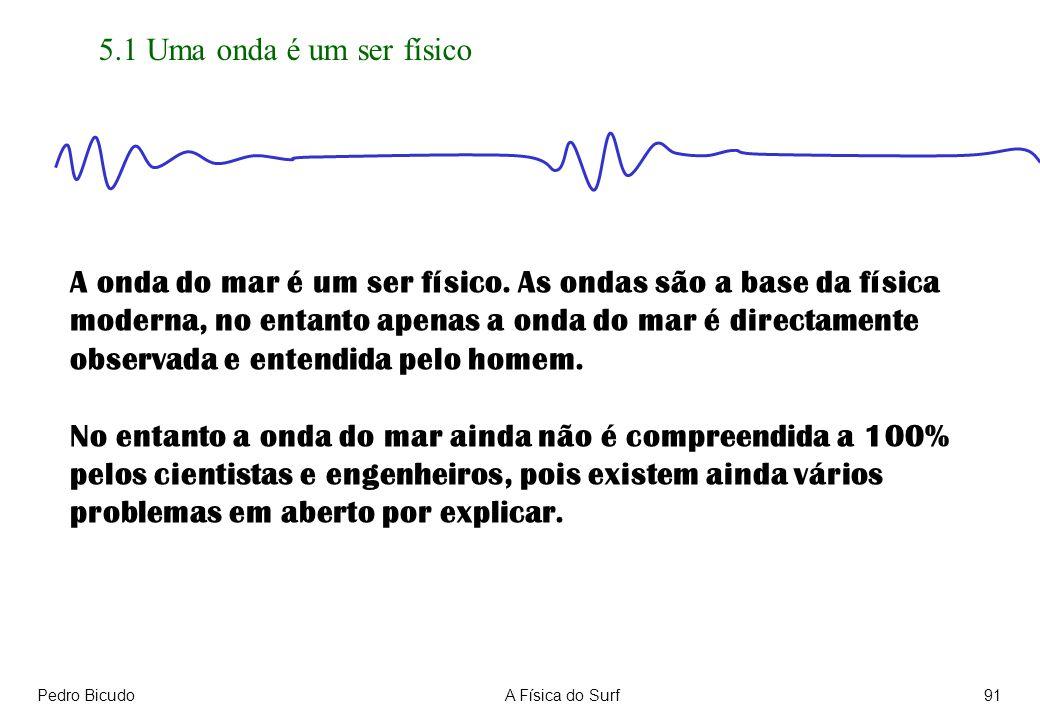 A onda do mar é um ser físico. As ondas são a base da física