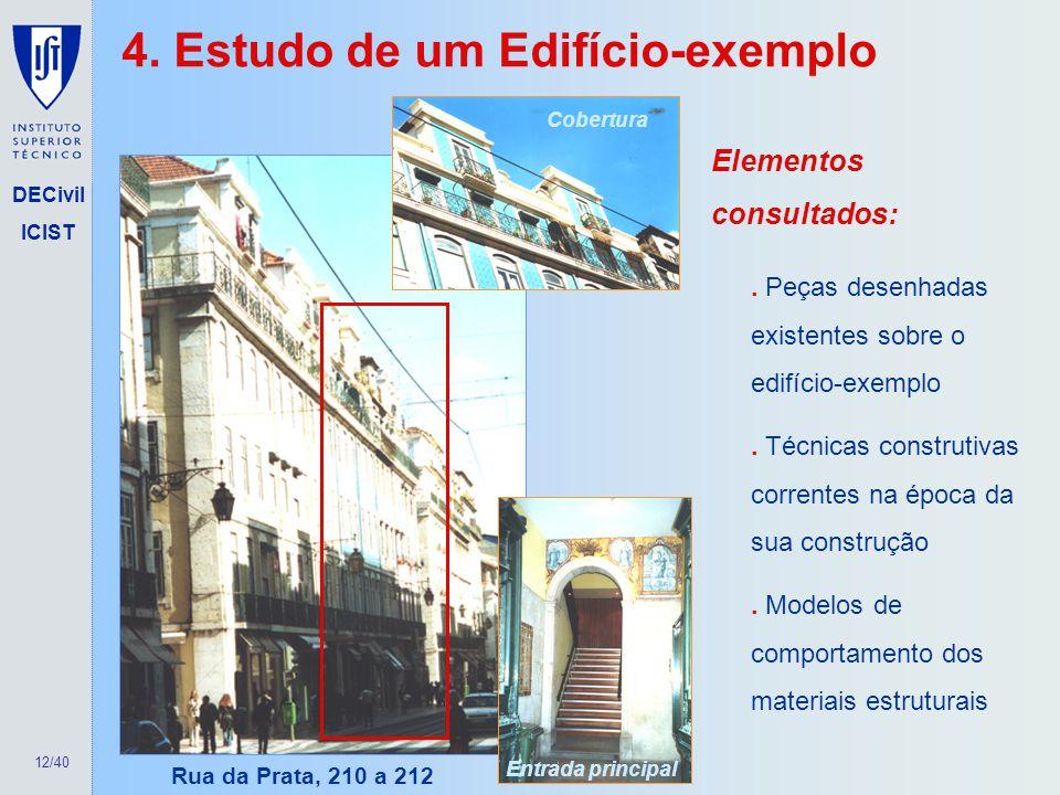 4. Estudo de um Edifício-exemplo
