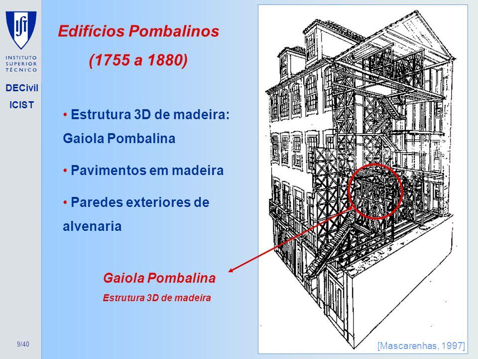 Edifícios Pombalinos (1755 a 1880)