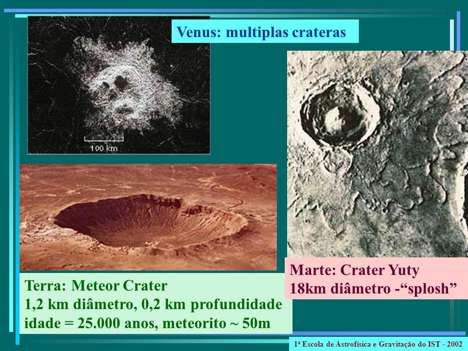 Venus: multiplas crateras