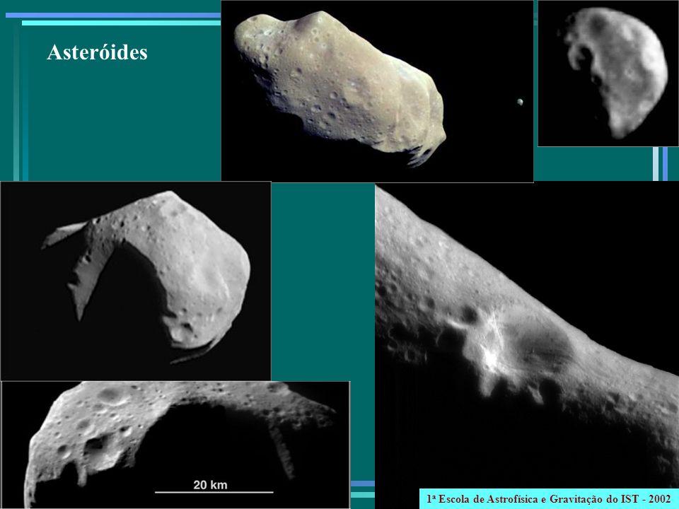 Asteróides 1a Escola de Astrofísica e Gravitação do IST - 2002