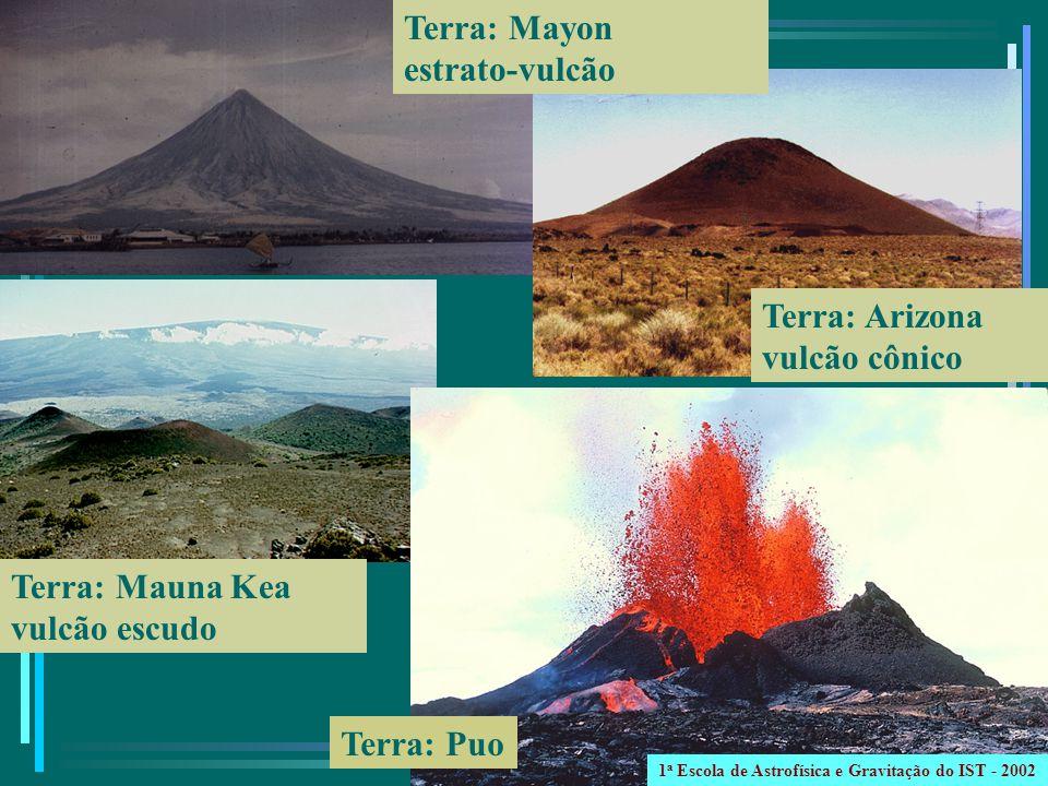 Terra: Mauna Kea vulcão escudo