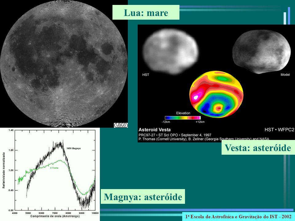 Lua: mare Vesta: asteróide Magnya: asteróide