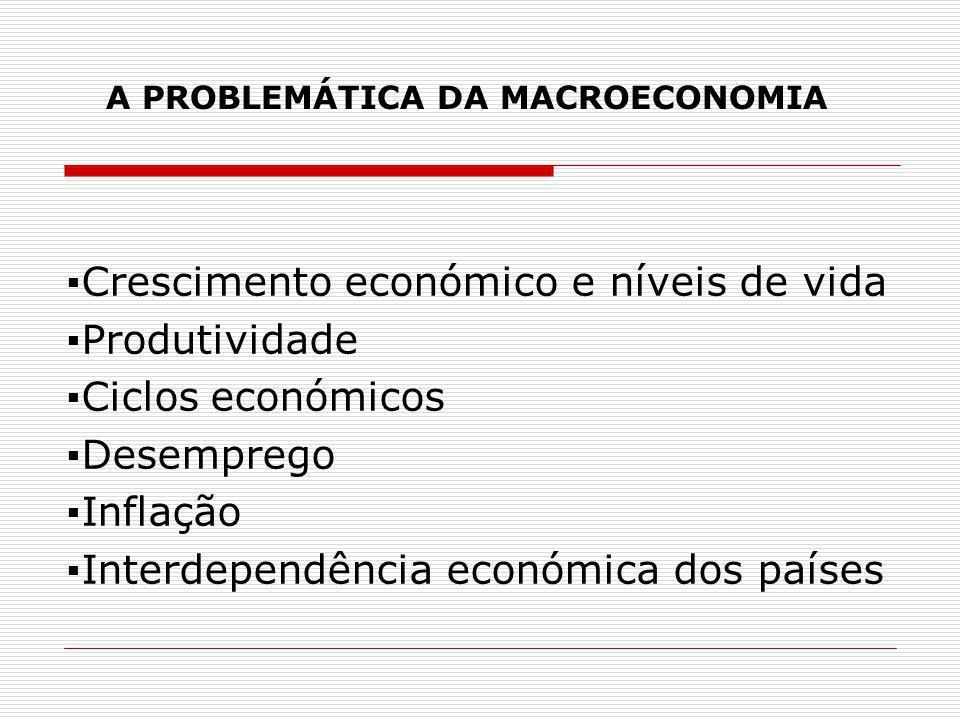 A PROBLEMÁTICA DA MACROECONOMIA