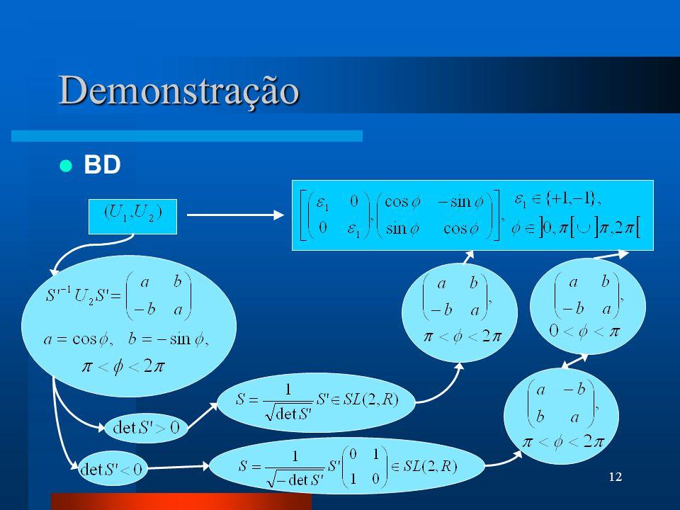 Demonstração BD
