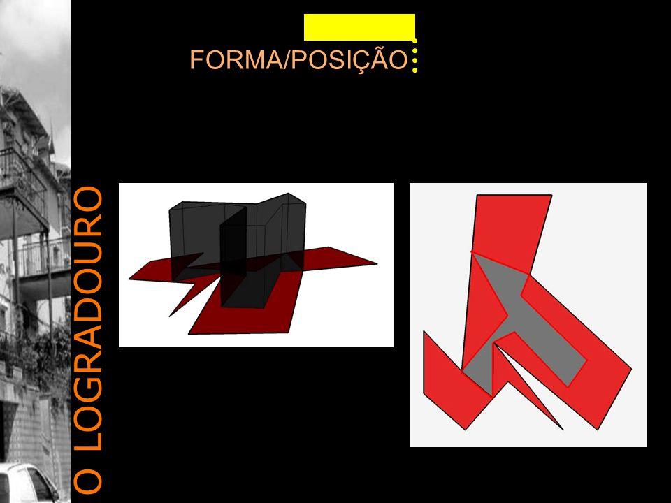 FORMA/POSIÇÃO O LOGRADOURO