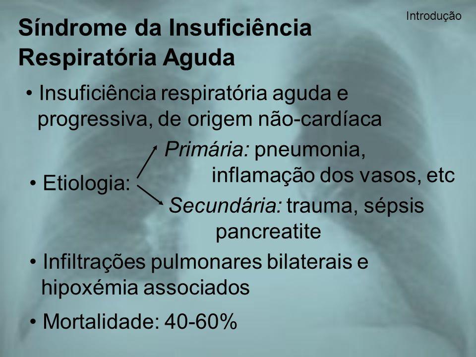 Síndrome da Insuficiência Respiratória Aguda