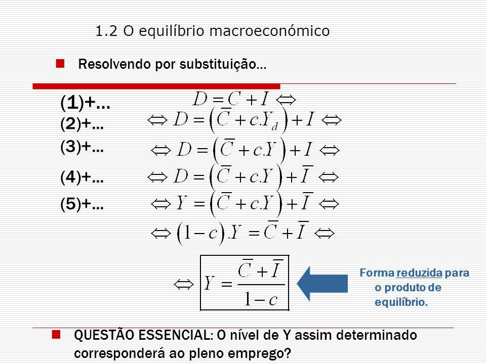 (1)+... (2)+... (3)+... (4)+... (5)+... Resolvendo por substituição...