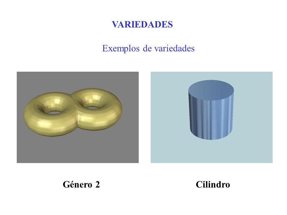 Exemplos de variedades