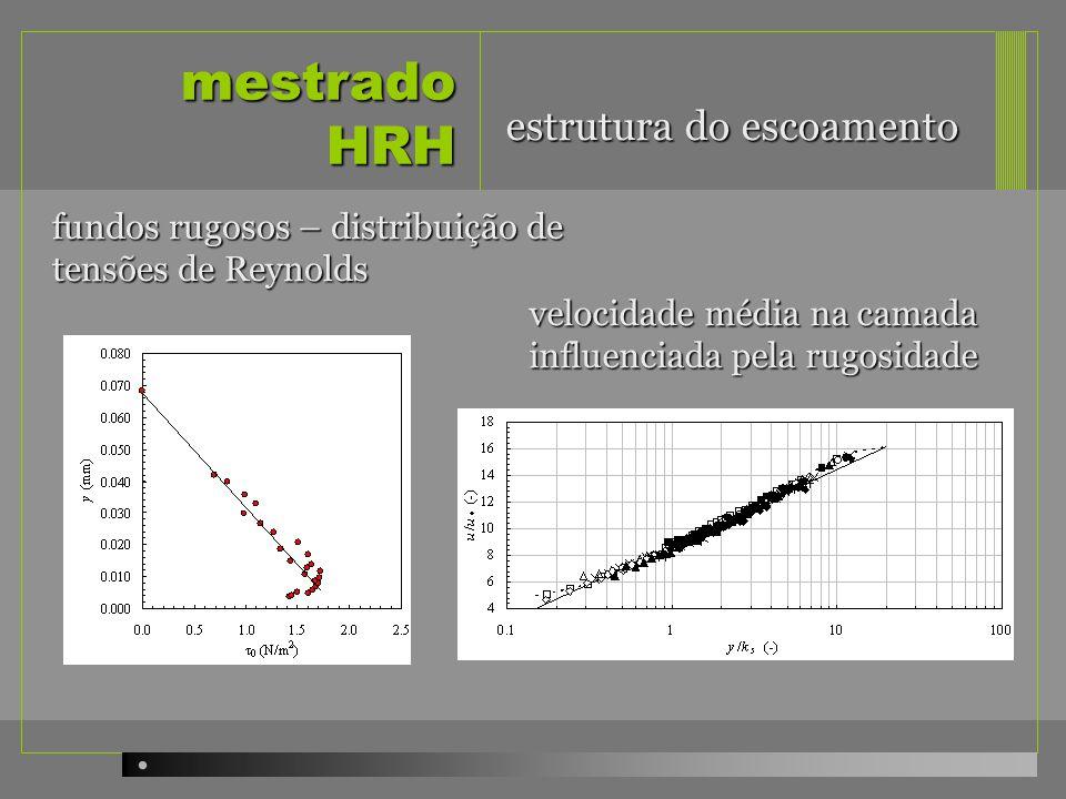 mestrado HRH estrutura do escoamento