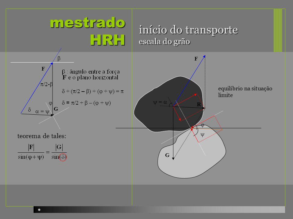 mestrado HRH início do transporte escala do grão teorema de tales: b F