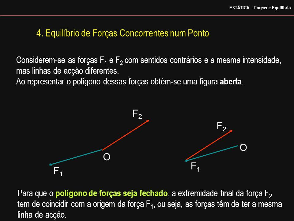 4. Equilíbrio de Forças Concorrentes num Ponto