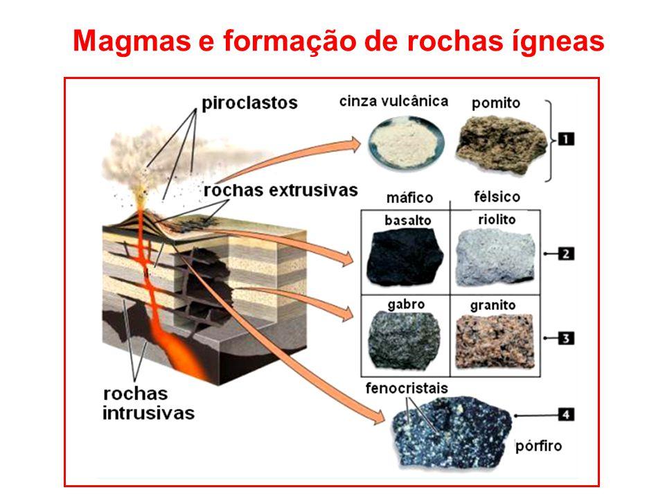 Magmas e formação de rochas ígneas