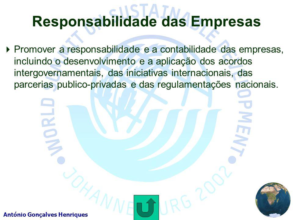 Responsabilidade das Empresas