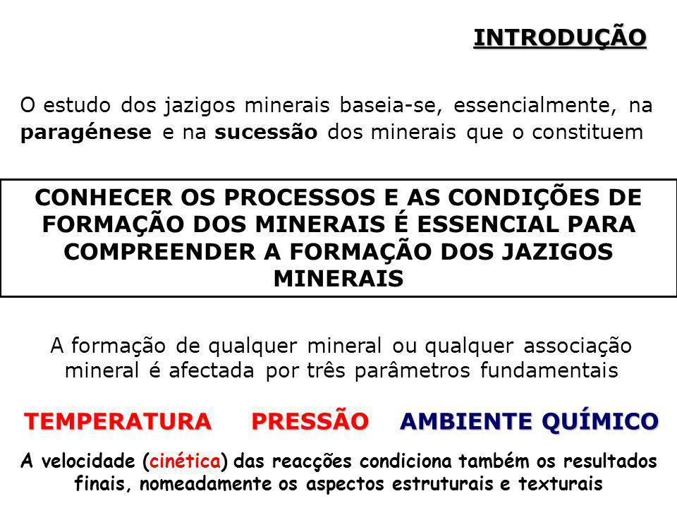 TEMPERATURA PRESSÃO AMBIENTE QUÍMICO