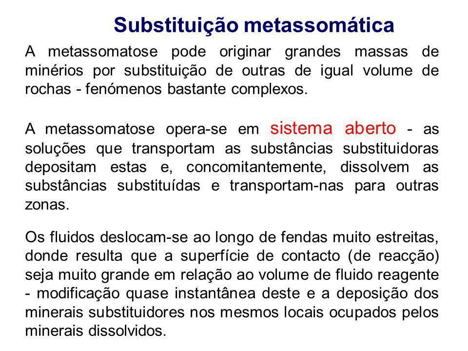 Substituição metassomática