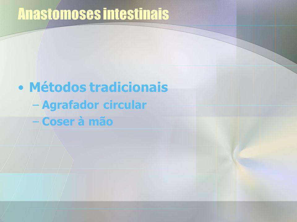 Anastomoses intestinais