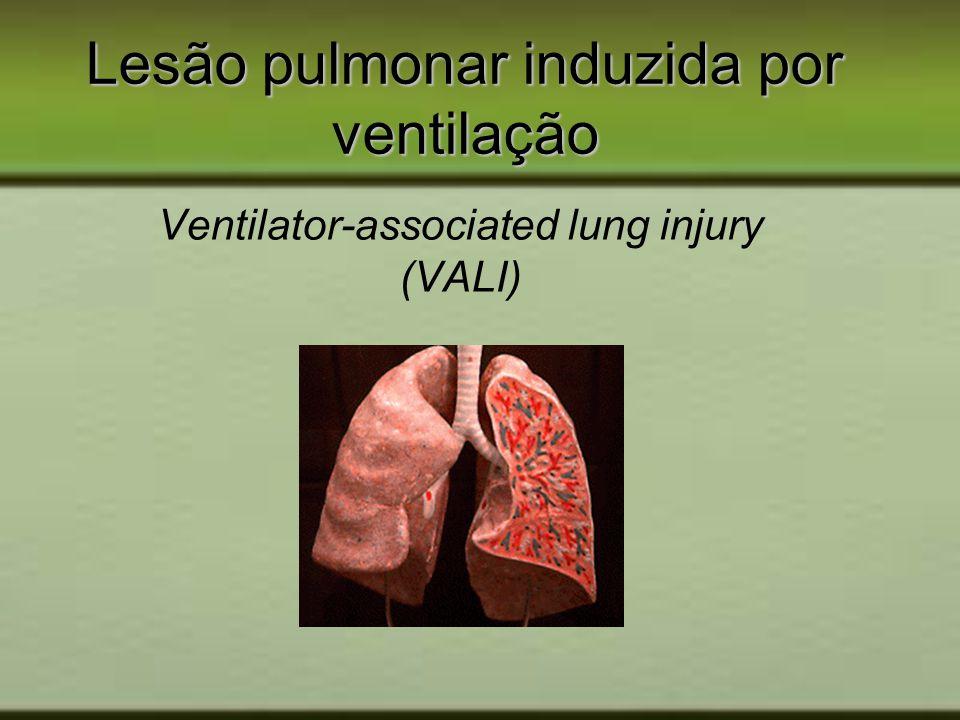 Lesão pulmonar induzida por ventilação