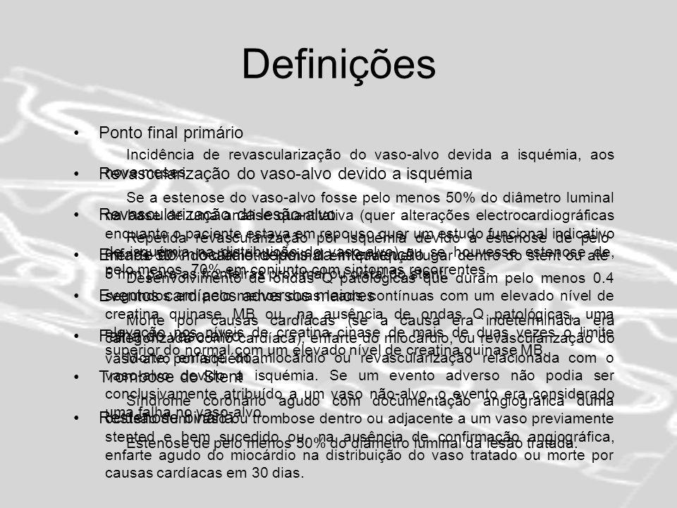 Definições Ponto final primário