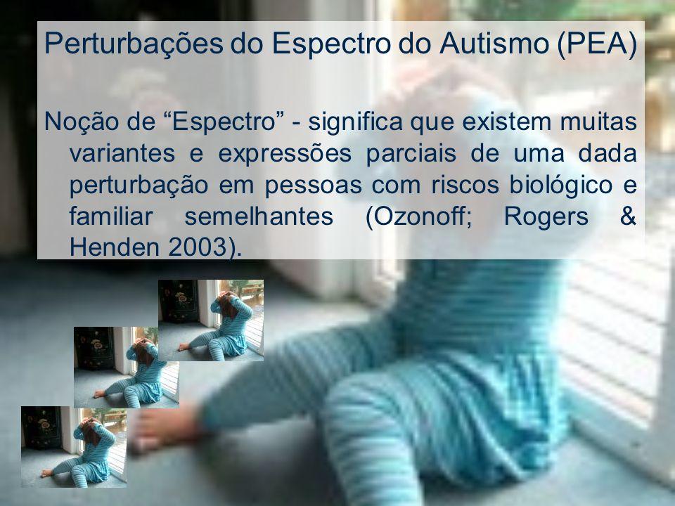 Perturbações do Espectro do Autismo (PEA)