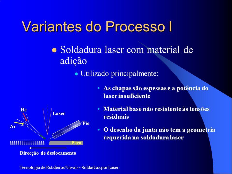 Variantes do Processo I