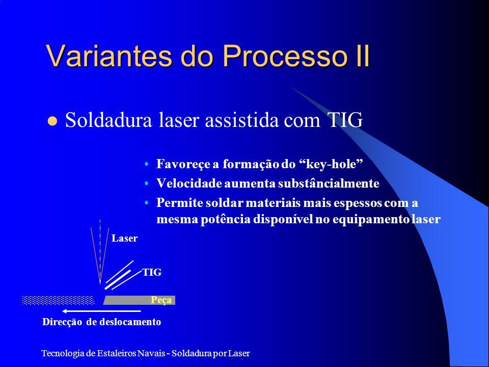Variantes do Processo II