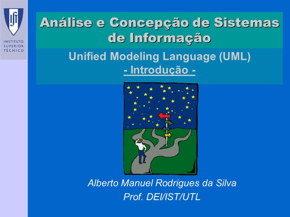 Unified Modeling Language (UML) - Introdução -