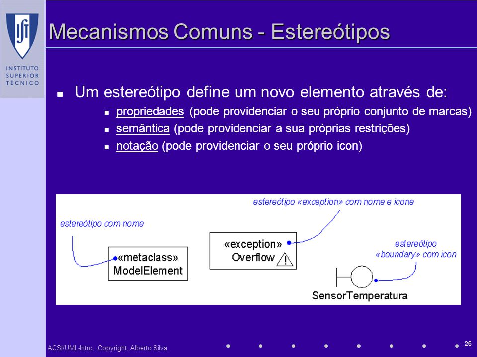 Mecanismos Comuns - Estereótipos