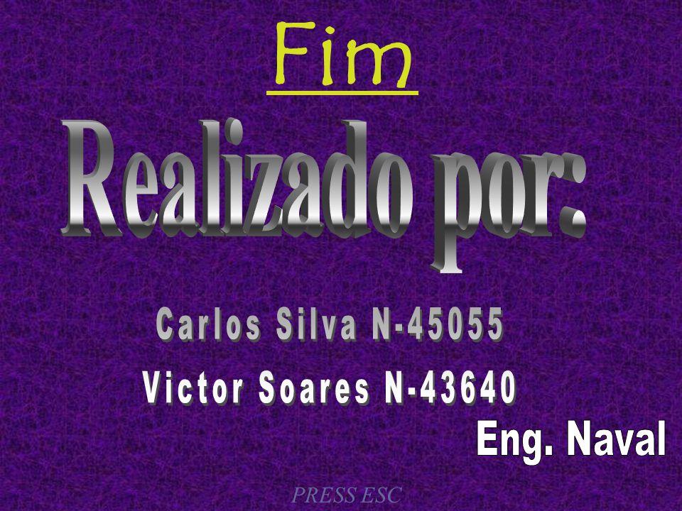 Fim Realizado por: Carlos Silva N-45055 Victor Soares N-43640