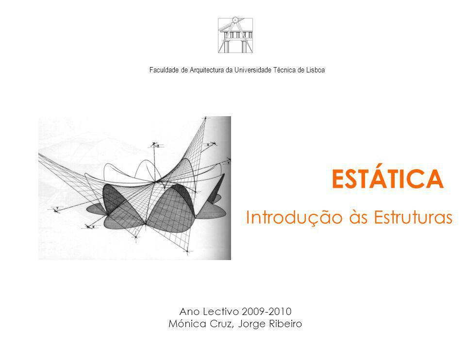 ESTÁTICA Introdução às Estruturas Ano Lectivo 2009-2010