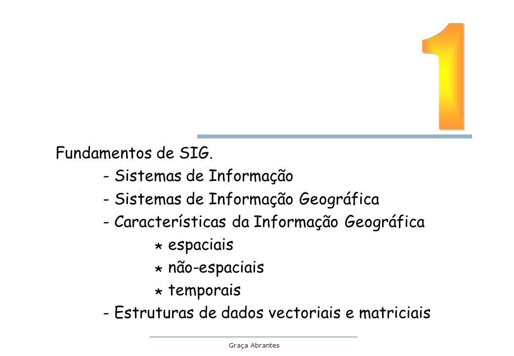 1 Fundamentos de SIG. - Sistemas de Informação