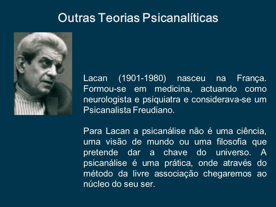 Outras Teorias Psicanalíticas