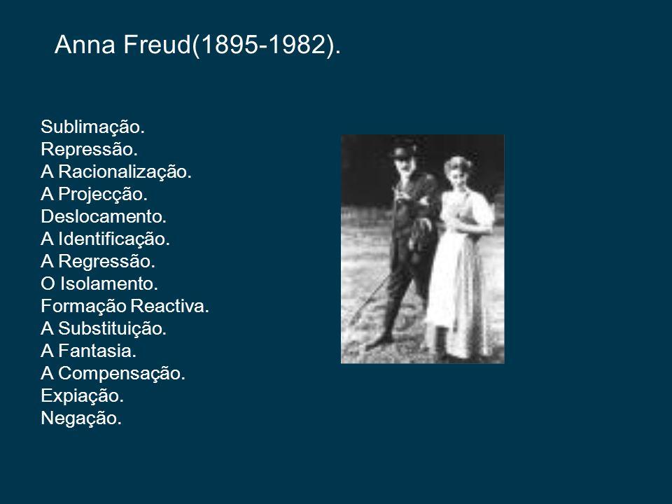 Anna Freud(1895-1982).