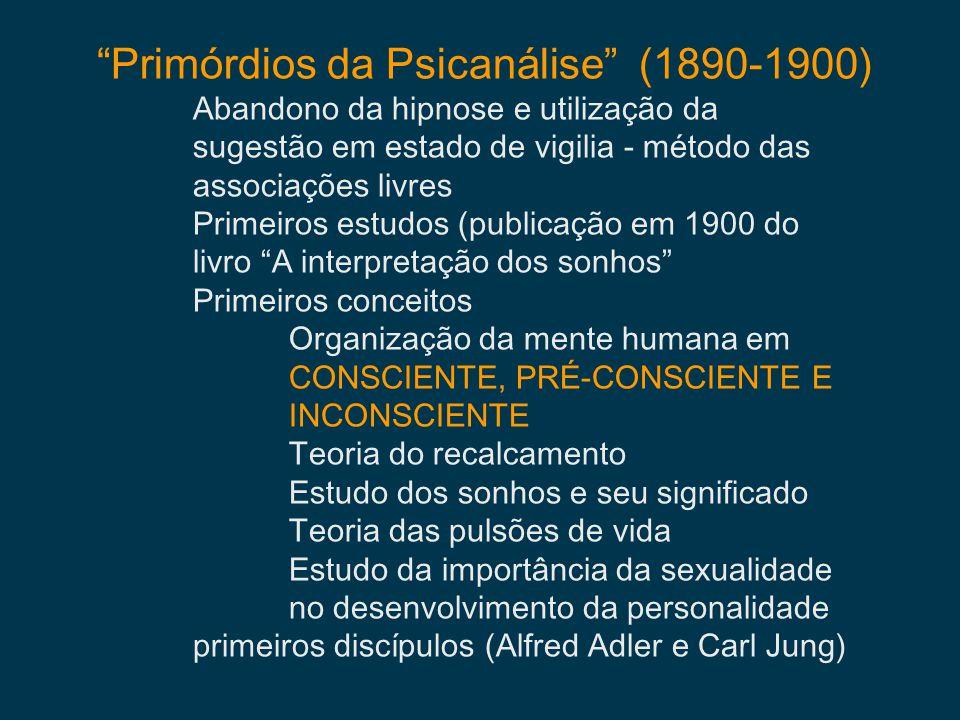 Primórdios da Psicanálise (1890-1900)