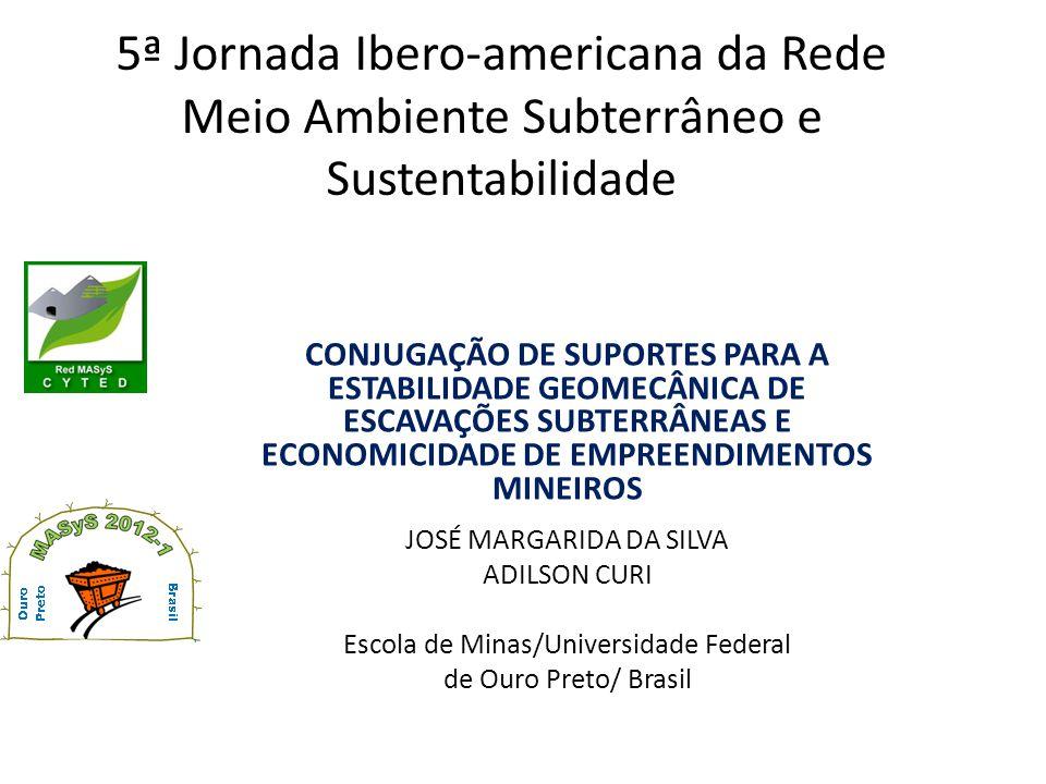 5ª Jornada Ibero-americana da Rede Meio Ambiente Subterrâneo e Sustentabilidade