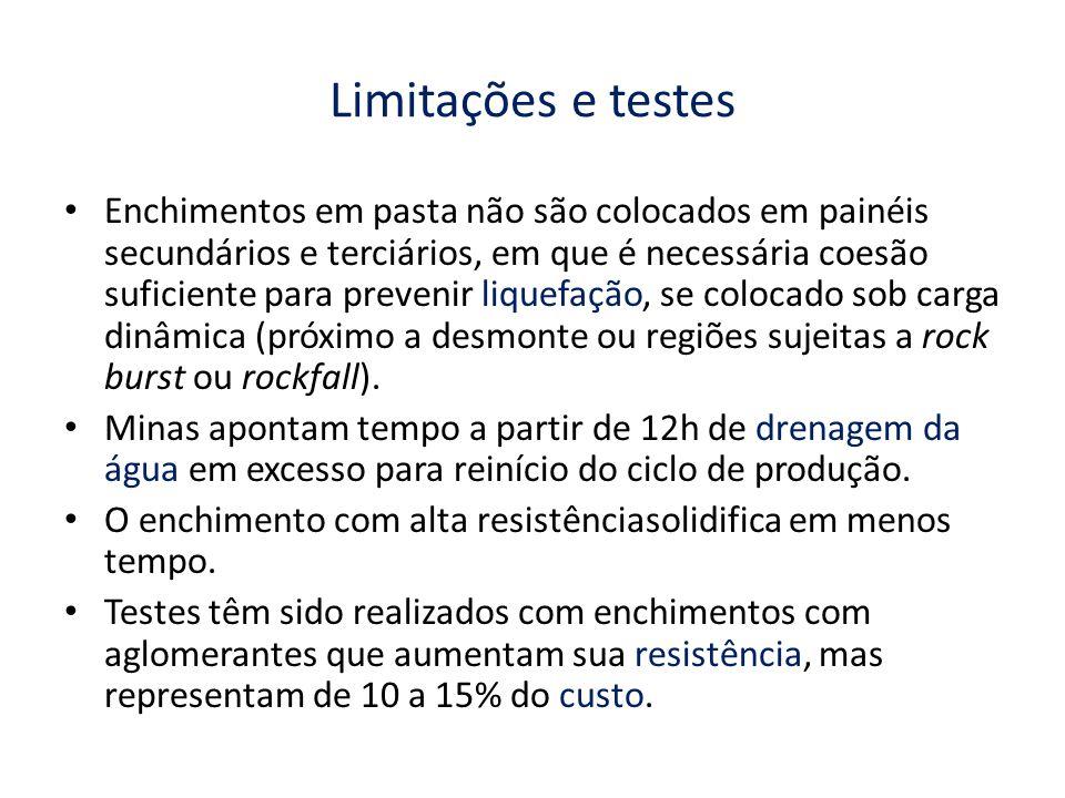 Limitações e testes