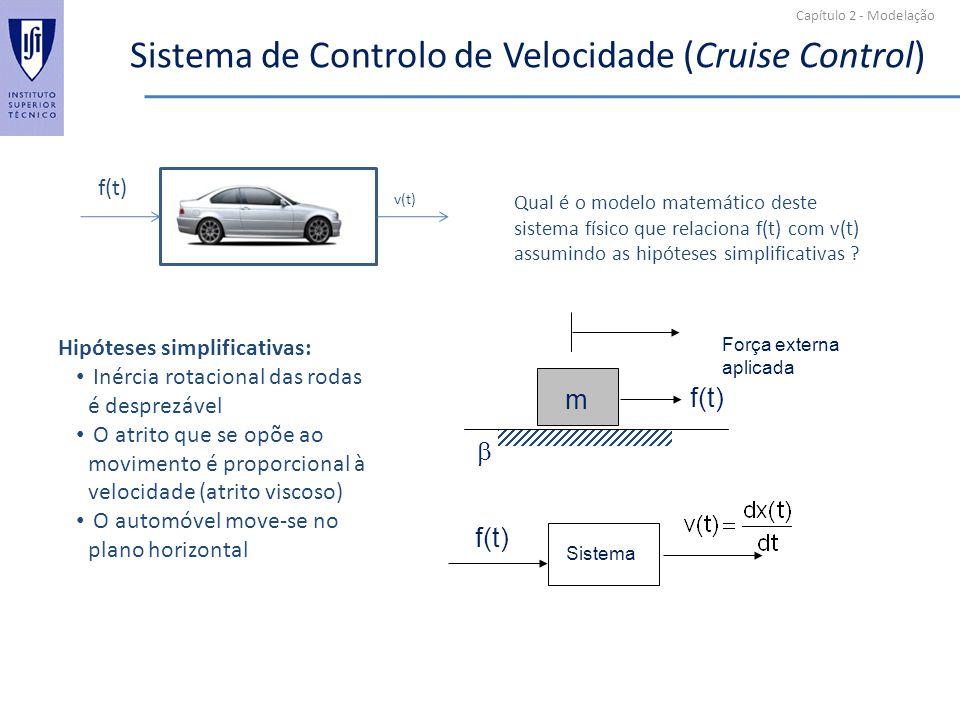 Sistema de Controlo de Velocidade (Cruise Control)