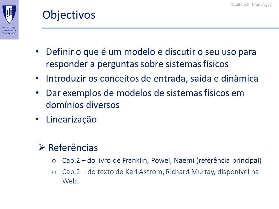 Objectivos Referências
