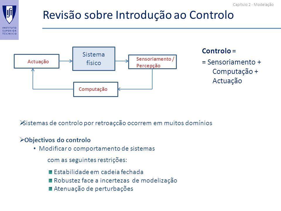 Revisão sobre Introdução ao Controlo