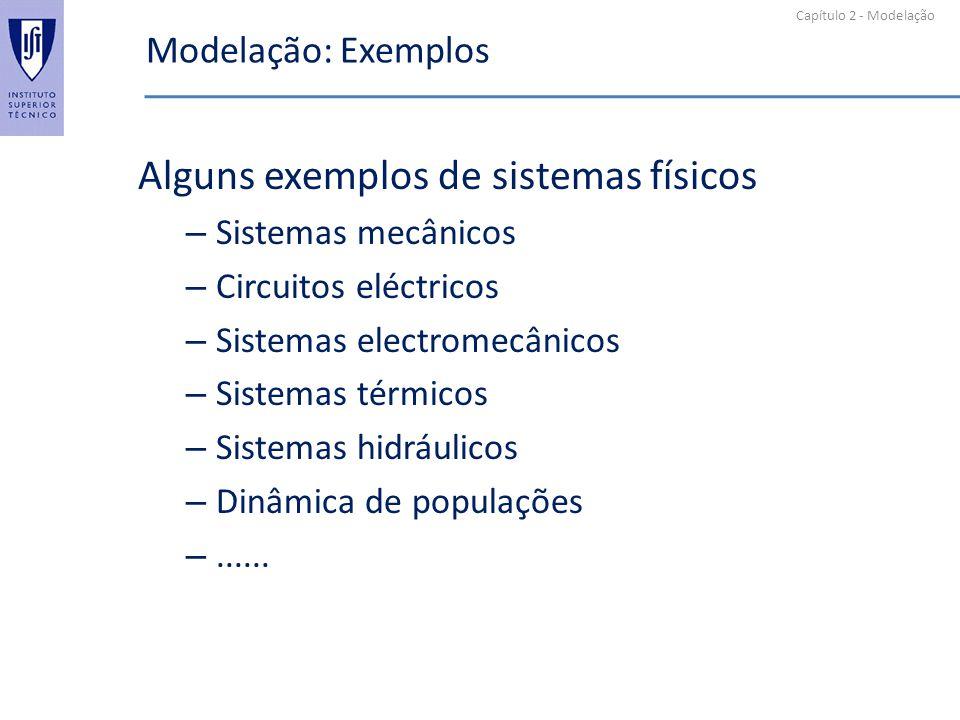 Alguns exemplos de sistemas físicos