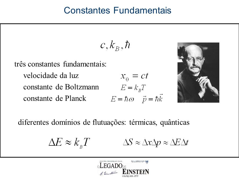 Constantes Fundamentais